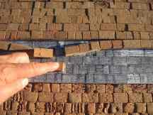 D. Cöllen, Korkmodell Klagemauer (1)
