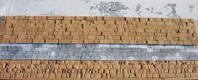 D. Cöllen, Korkmodell Klagemauer (2)