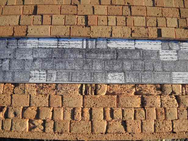 D. Cöllen, Korkmodell Klagemauer (3)