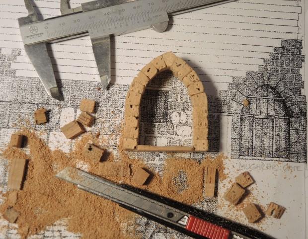 Dierter Cöllen, Korkmodell Klagemauer, Mughrabi Gate (3)