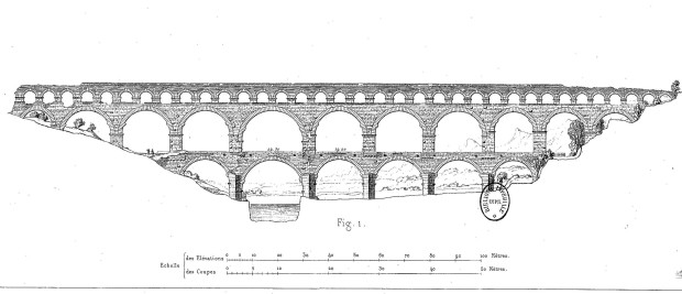 Pont du Gard Ansicht
