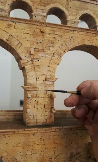Dieter Cöllen, Korkmodell Pont du Gard (5)