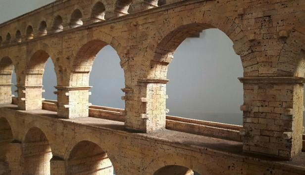 Dieter Cöllen, Korkmodell Pont du Gard (7)